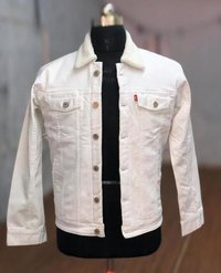 White Trucker Jacket