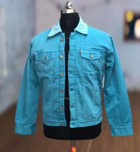 Mens Overdye Trucker Jacket