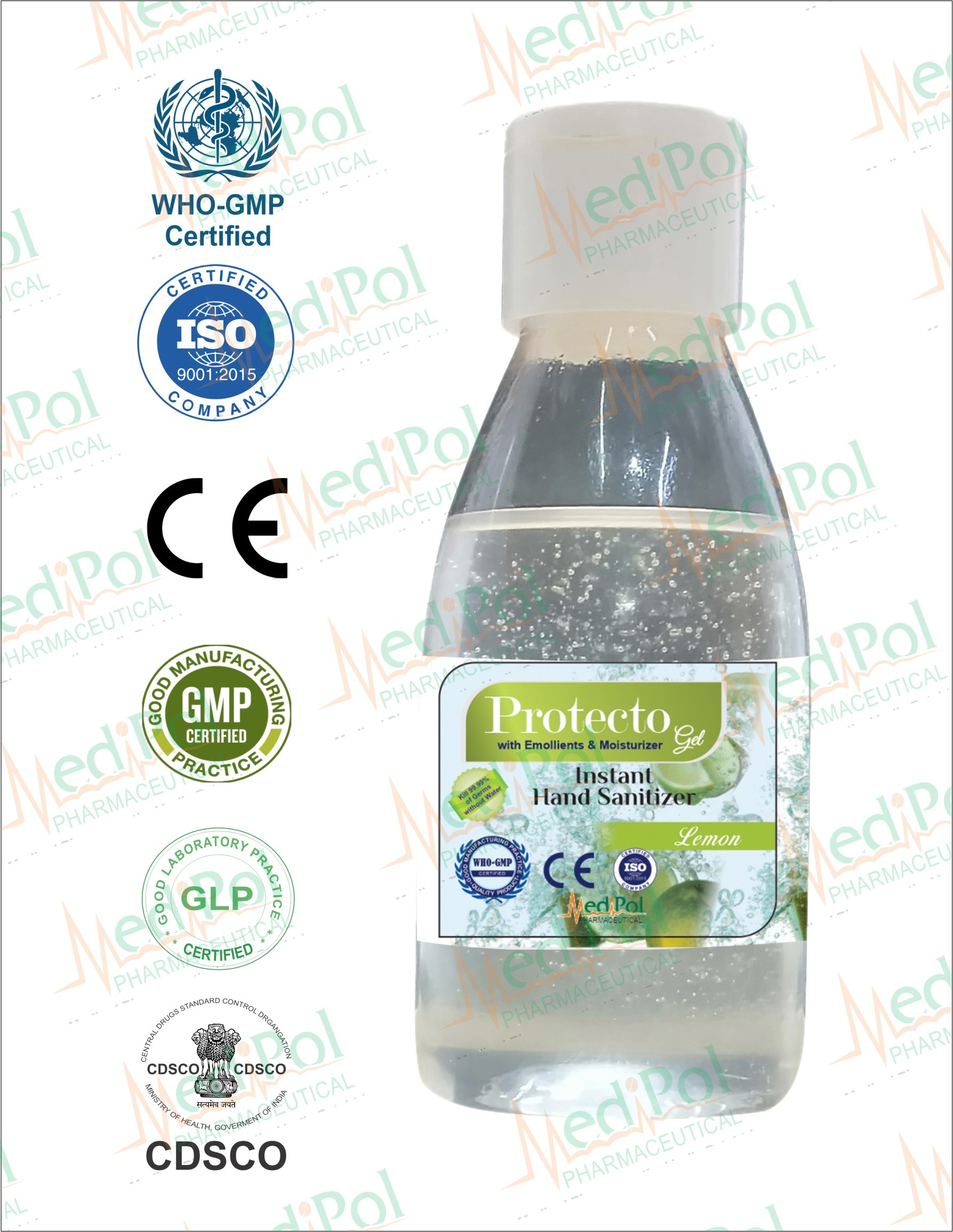 60 ML Protecto Gel Instant Hand Sanitizer