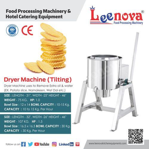 Hydro Machine Tilting (Potato Dryer)
