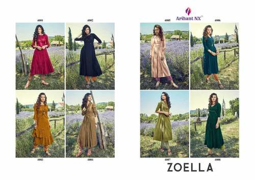 Zoella Soft Cotton Wholesale Kurti Catalog
