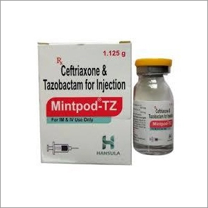 Ceftriaxone And Tazobactam Injection