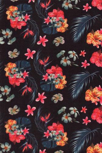 Multi Colour Floral Artificial Leather