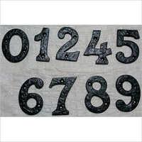 Cast Iron Numerals