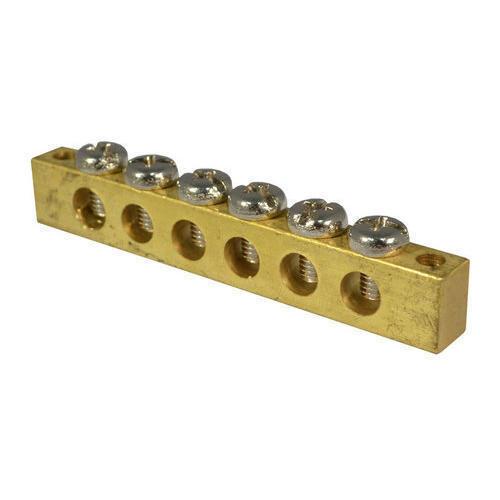 4 Way Brass Neutral Link