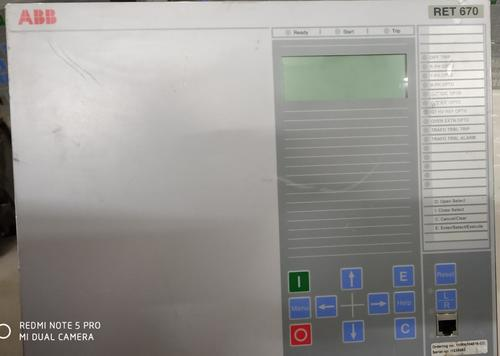 ABB  Transfomer protection  RET670