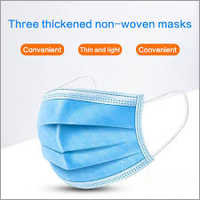 Three Thickened Non Woven Masks