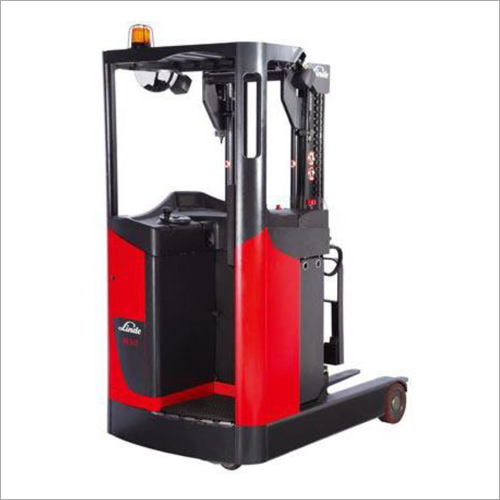 Stand On Reach Forklift Truck
