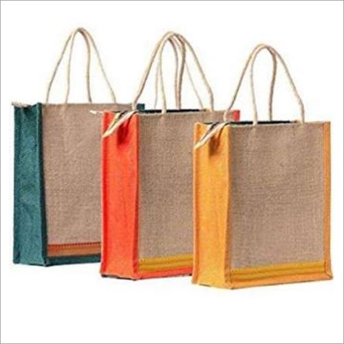 Multicolored Jute Bags