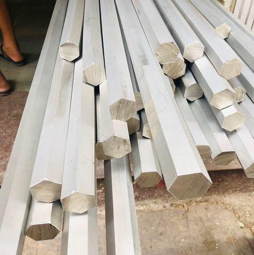 Stainlees steel hex bar