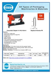 Pneumatic Stapler FA PRO-PS5416