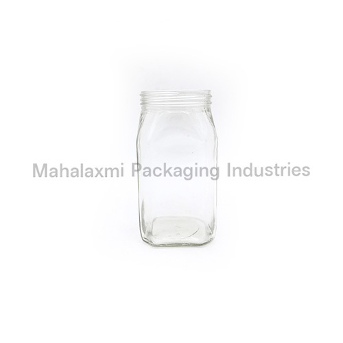 1KG square honey glass