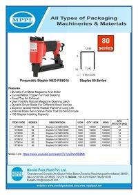 Pneumatic Stapler NEO-PS8016