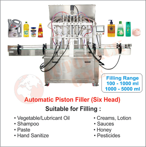 Automatic Oil Filling Machine (6 Head)