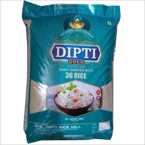 25 kg Gold Supper Fine Silky Sortex Rice