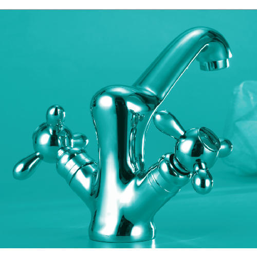 Twister Central Hole Basin Mixer