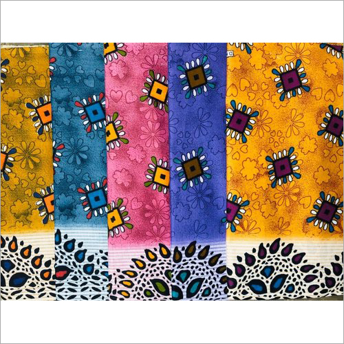 Ladies Nighty Printed Cotton Fabric