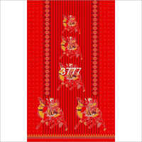 Printed Gujri Nighty Fabric