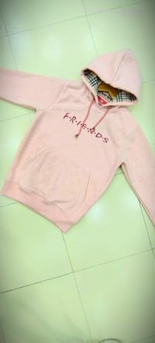 Girlish Cotton hoodie