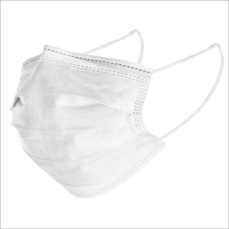 Disposable Flat Fold Type Face Mask with Elastic Ear Loop