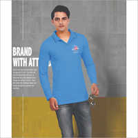 Mens Blue Polo T-Shirt