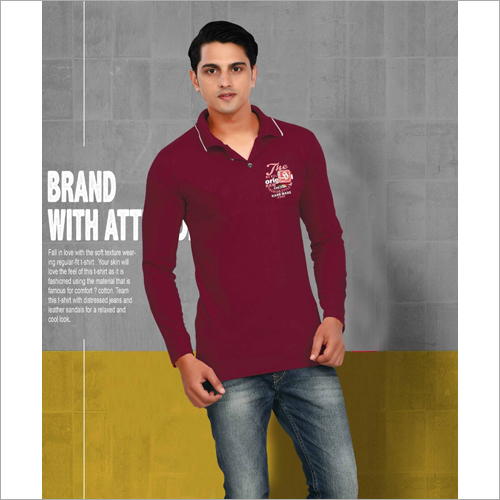 Mens Casual Polo T-Shirt