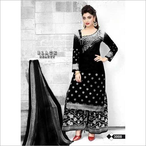 black beauty cotton dress material