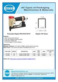 Pneumatic Stapler PRO-PS1013FV2