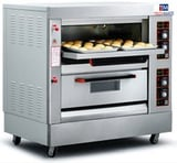Gas Oven 2Deck 4 Tray