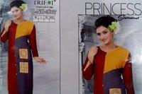 Rayon Trifoi Branded Kurtis