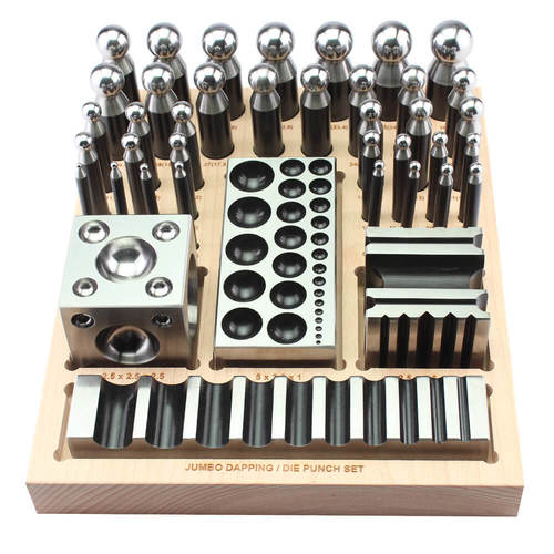 40 piece Jumbo dapping & die set w/stand