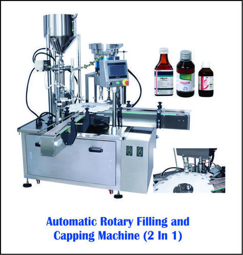 Fully Automatic Filling And Capping Machine For Small Bottles