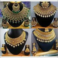 Wedding Bridal Imitation Necklace Set