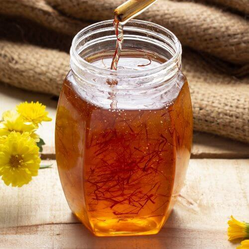 Saffron Honey
