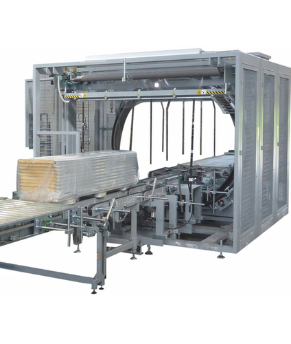 Horizontal Spiral Automatic Wrapping Machine