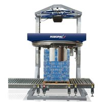 Rotating Ring Pallet Stretch Wrapping Machine