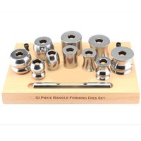 10 piece bangle forming die set w/stand