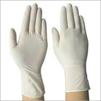 White Latex Hand Gloves