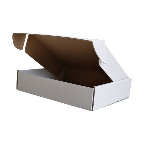 Plain Duplex Corrugated Die Cut Box
