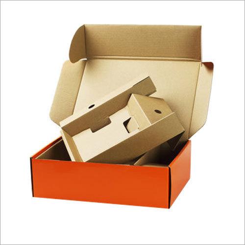 Die Cut Plain Corrugated Box
