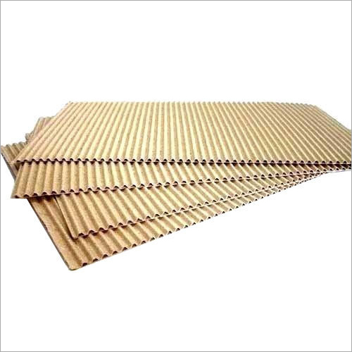Brown Corrugated Packaging Sheet