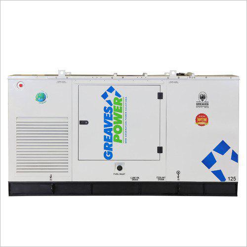 Greaves Power 125 KVA Silent Diesel Generators
