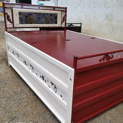Folding Metal Box Bed
