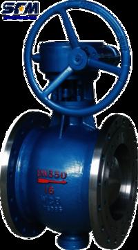 Double eccentric regulating half ball valve