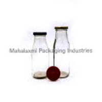 300 ml Milk Glass Bottle Family