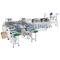 Full Automatic 3 Ply Face Mask Making Machine