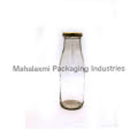 1000 ml Sq. Milk Glass bottle
