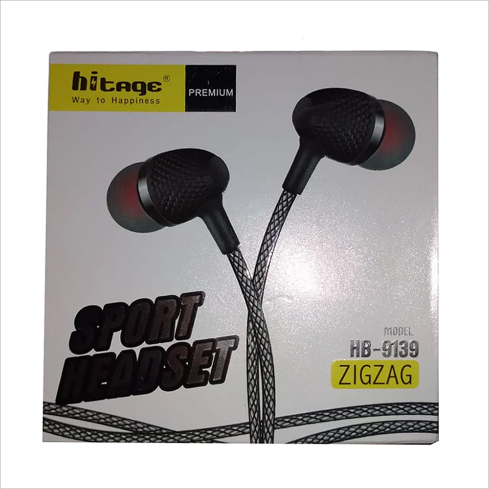 Zig Zag Wired Handsfree