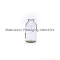 1 L Round Milk Glass Bottle