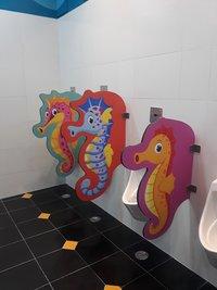 Urinal Partition - Children / School
